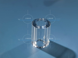 Single Crystal Al2O3 Pressure Resistant Sapphire Glass Tube